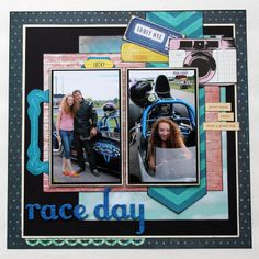 Scrapbook Layout Crate Paper