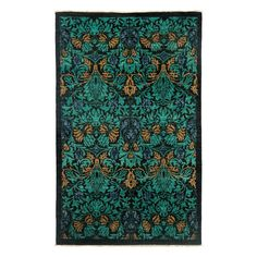 """Morris Collection Oriental Rug, 4'10"""" x 7'9"""""""