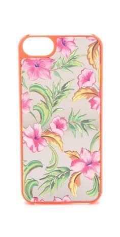 Juicy Couture Optimistic Floral Mirror iPhone Case $35.00