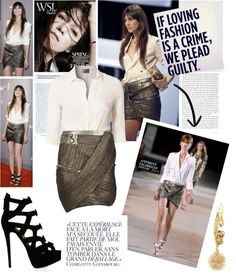 """""""Charlotte Gainsbourg - Les César 2013 in Paris"""" by milica1940 ❤ liked on Polyvore"""