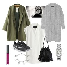 """""""Tuesday3_september6"""" by mnemo7 on Polyvore featuring J.Crew, By Malene Birger, Loeffler Randall, NIKE, Cartier and Love This Life"""