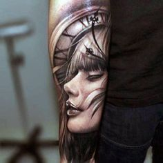 Upper Arm Sleeve Tattoos For Men