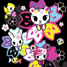 Punk rock animal cutes