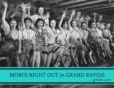 Mom's Night Out - 8 Ideas to Get You Started