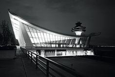 Dulles Airport by Eero Saarinen