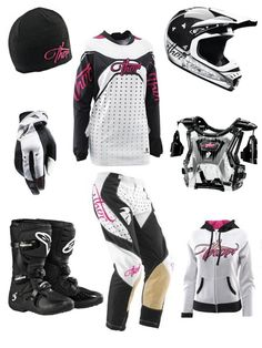 I would LOVE a set of riding gear like this!!! <3 they both said... .. .
