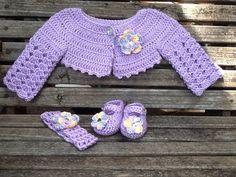 Crochet baby bolero, Crochet childs bolero sweater, Crochet long sleeve bolero