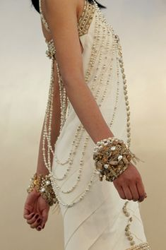 Chanel couture fall 2010...love the beading!