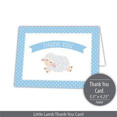 Little Lamb Printable A Envelope Template Instant  Little Lamb