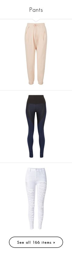 """""""Pants"""" by melissaobey ❤ liked on Polyvore featuring nude, activewear, activewear pants, black, nike activewear pants, stretch jersey, nike activewear, nike, nike sportswear and jeans"""
