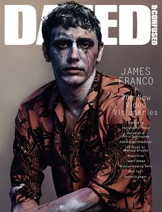 Our Dec issue cover star James Franco launches #DAZEDVISIONARIES – a new home for the world's best filmmakers. Shot by Josh Olins and styled by Robbie Spencer. http://www.dazeddigital.com/artsandculture/article/17801/1/dazed-confused-december-2013-the-new-video-visionaries