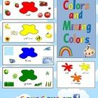 Colors and Mixing Colors Classroom Posters - PDF file8 page file designed by Clever Classroom.Updated as of July, 2012 to now include Zaner-Blo...