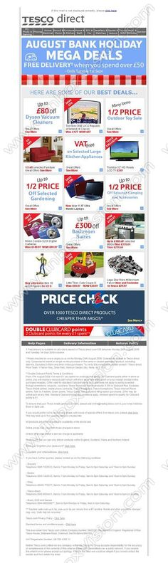 Company:   Tesco Online   Subject:  Free Delivery plus our Best Bank Holiday Offers from Tesco direct               INBOXVISION is a global database and email gallery of 1.5 million B2C and B2B promotional emails and newsletter templates, providing email design ideas and email marketing intelligence http://www.inboxvision.com/blog