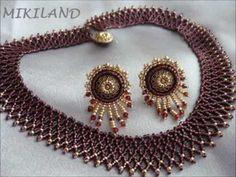 Afacerea mea ... hand made brățări - 24 mai 2013 - YouTube Tatting Jewelry, Seed Bead Jewelry, Jewelry Making Beads, Jewelry Bracelets, Jewellery, Beaded Statement Necklace, Beaded Earrings, Beaded Jewelry Designs, Necklace Tutorial