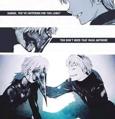 Tokyo Ghoul (╥﹏╥) *tries not to cry , cries a lot*