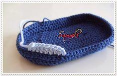 Samyelinin Örgüleri: Mavi Erkek Bebek Patiği ve YAPILIŞI