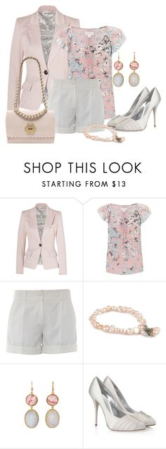 """""""Blazer and short"""" by dgia ❤ liked on Polyvore featuring Emilio Pucci, Monsoon, French Connection, Pearls For Girls, Kelly Wearstler, Giuseppe Zanotti and Mulberry"""