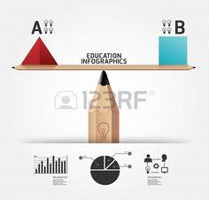 #Creative #Education #Infographics Concept #illustration