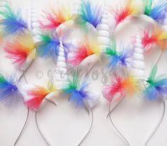 Cuernos de unicornio fiesta Pack  diademas de unicornio arco