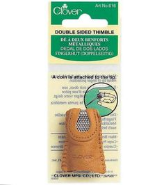 Clover® Double Sided Thimble, , hi-res