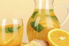 Orange Ginger Lemonade is a delicious Continental recipe served as a Drinks. Find the complete instructions on Bawarchi Infused Water Recipes, Fruit Infused Water, Infused Waters, Flavored Waters, Healthy Eating Tips, Healthy Drinks, Detox Drinks, Clean Eating, Healthy Eats