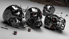 Head Skull Wallpaper 3D Free For Desktop Mobile #7829828844 Wallpaper