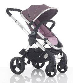 iCandy Peach 3 in Marshmallow, single stroller.