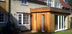 cladding or render extension Extension Google, Cladding, Extensions, Shed, Outdoor Structures, Landscape, Google Search, Outdoor Decor, Modern