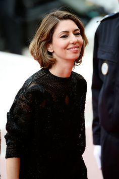 Sofia Coppola - 'Grace of Monaco' Premieres at Cannes - another closer look at the detail of the blouse/top
