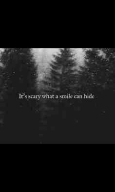 I just smile but in the inside I'm brokenI can't take it anymore