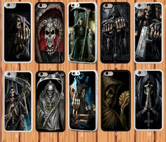 Grim Reaper Skull Skeleton for iPhone And Samsung Galaxy Case Cover #NONGCHAO