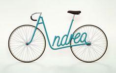 Bicicletas con nombre propio | Decoratrix | Decoración, diseño e interiorismo
