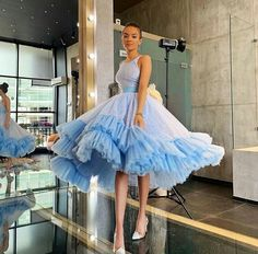 Do you love this Cinderella inspired super-fun dress by * * * Cute Prom Dresses, Ball Dresses, Elegant Dresses, Homecoming Dresses, Pretty Dresses, Ball Gowns, Evening Dresses, Short Dresses, Mode Outfits