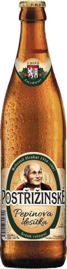 Postřižiny Pepinova 10%, 0,5l - 0 Czech Beer, Beer Bottle, Vintage, Root Beer, Beer, Beer Bottles, Vintage Comics