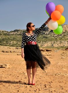 baloons and tulle skirt, tutu Dot Dress, Pink Dress, Italian Shoes, Still Standing, Carrie Bradshaw, Carry On, Tutu, Feminine, My Style