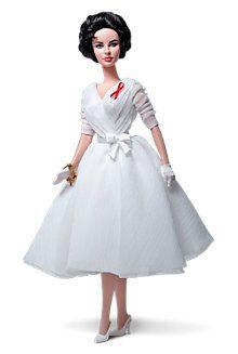 Elizabeth Taylor White Diamonds Silkstone Barbie 2012