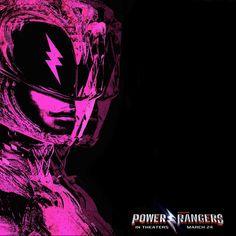 Pink Ranger poster