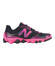 Take a look at this Black & Pink Minimus 3090 Running Shoe - Women by New Balance on #zulily today!