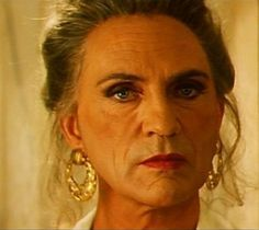 """Terence Stamp - drag from """"Priscilla Queen of the Desert"""" """"No more fucking ABBA! Terence Stamp, Under The Rainbow, Perfect Movie, Movies Playing, How To Look Handsome, Clexa, Raining Men, Hair Today, Looking For Women"""