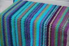 Temperature Blanket crocheted by Jeanne Steinhilber