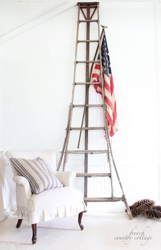 FRENCH COUNTRY COTTAGE: Stars & Stripes