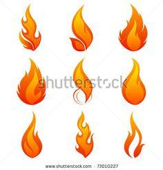 Fire Flames Collage By Helga Pataki Via Shutterstock