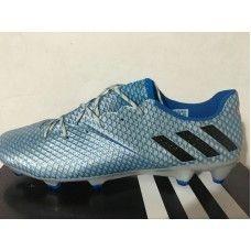 Adidas Messi - Chuteiras De Futebol Adidas Messi 16 Pureagility FG AG Azul  Prata Laranja Venda c9e4b7c295fa4