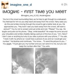 Harry imagine. This is a good one:)