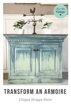 Vintage Furniture Redo - Prima e dopo Furniture Painting Techniques, Chalk Paint Furniture, Hand Painted Furniture, Distressed Furniture, Refurbished Furniture, Repurposed Furniture, Shabby Chic Furniture, Furniture Projects, Furniture Makeover