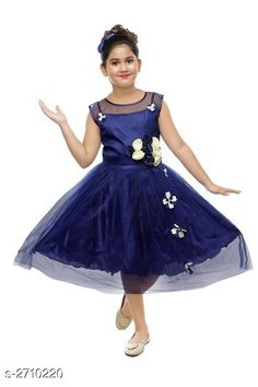 Checkout this latest Frocks & Dresses Product Name: *Kid's Girl's Dress* Fabric: Silk Sleeve Length: Short Sleeves Pattern: Solid Multipack: Single Sizes: 8-9 Years, 9-10 Years Easy Returns Available In Case Of Any Issue   Catalog Rating: ★4 (228)  Catalog Name: Fabulous Kid's Girl's Dresses Vol 12 CatalogID_367142 C62-SC1141 Code: 333-2710220-858