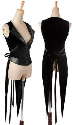 Veste aristocrate noire à queue de pie majordome Y-302 > JapanAttitude - Lentilles et perruques de cosplay, vêtement gothique, aristocrate, gothic lolita, kawaii, corset...