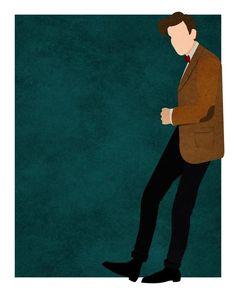 Doctor Who minimalist: Matt Smith