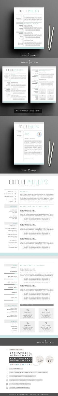 #resume #design from themexriver | DOWNLOAD: https://creativemarket.com/themexriver/657855-Resume?u=zsoltczigler