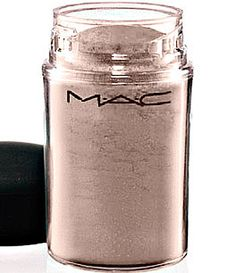 """MAC Pigment Colour Powder in """"Naked."""" I have had this for two years and there is barely a dent in it. I use it everyday, whether I'm wearing eyeshadow or not. It has the perfect amount of shimmer and neutralizes some eyeshadows that can appear harsh. It also works great to highlight the brow bone."""